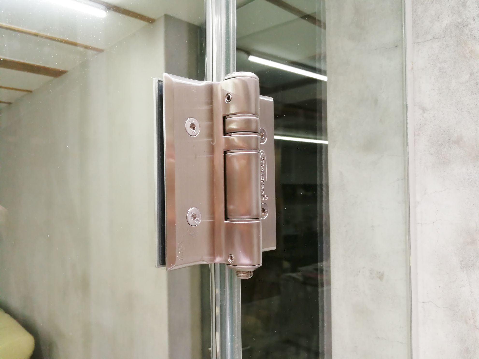 Glass to glass hinges-K51GG