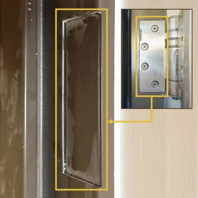 Full Mortise Hinges Apply To Automatic Fire Door Closers