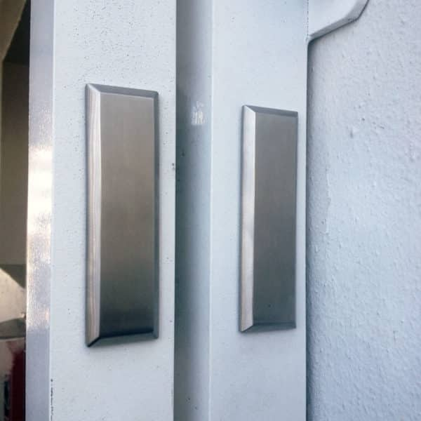 Waterson gate hinge-at dolphin beach club - 3 years ago