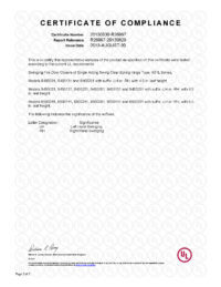 Waterson-UL-CertificateofCompliance2