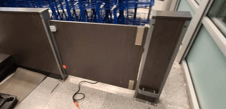 metal gate hinges
